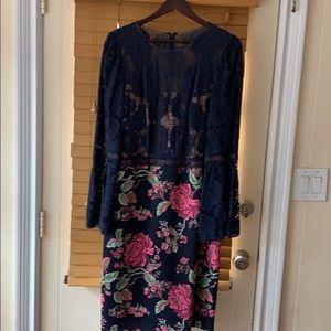 Tadashi Shoji Dorothy Neoprene Lace dress